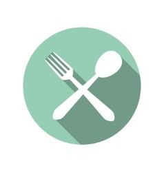 Blue button icon vector image