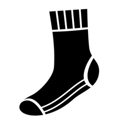 heat sock icon simple style vector image