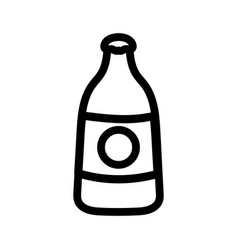 Isolated bottle icon design vector