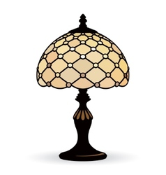 Old lamp vector