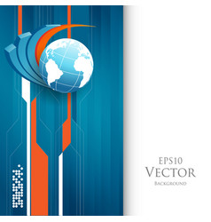 statistic concept vector image