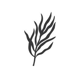 Tarragon glyph icon vector