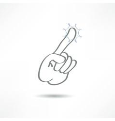 Touch finger vector