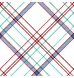 White check plaid fabric texture seamless pattern vector