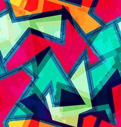urban geometric seamless pattern vector image