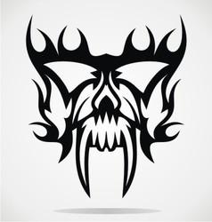 Skull Mask vector image vector image