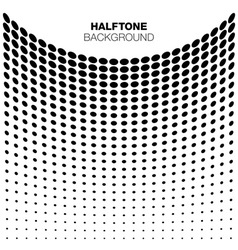 Abstract Halftone Background for your design vector image vector image