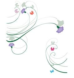 purple vector image vector image