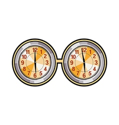 A pair of clocks vector