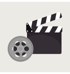 Cartoon cinema film festival movie design vector