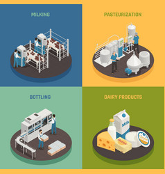 Dairy products design concept vector