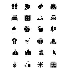 Hotel and Restaurant Icons 6 vector