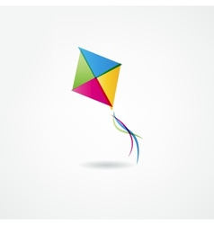 Kite icon vector image