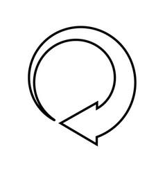 Looping template design vector