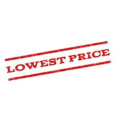 Lowest price watermark stamp vector