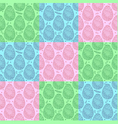 Pattern eggs10 vector