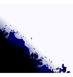 Abstract black and white ink background vector image vector image