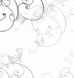 swirl graphic vector image
