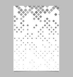 geometric rounded square pattern poster vector image