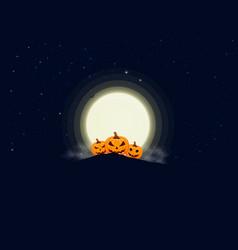 Happy halloween message design background eps 10 vector