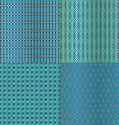 Moroccan tiles vector