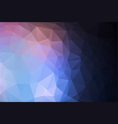 polygonal mosaic background low poly style vector image