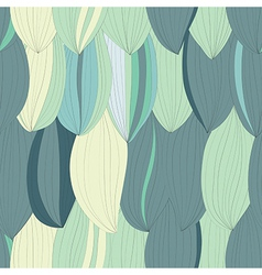 Seamless texture with abstract petals vector