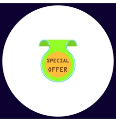 Special offer computer symbol vector