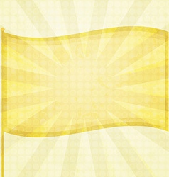 sunny flag background vector image