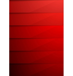 Red shadow layer modern folder background vector image vector image