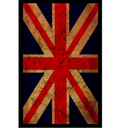 england grunge flag an england grunge flag for a vector image