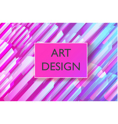 Abstract colorful playful banner background with vector