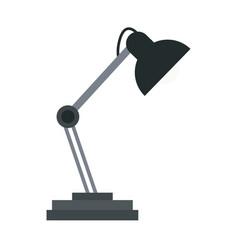 desk lamp light accessorie image vector image