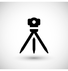 Geodetic level icon vector image