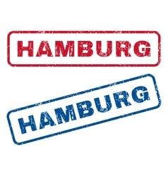 Hamburg Rubber Stamps vector