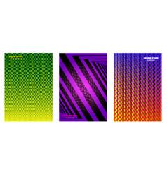 minimal covers geometric design vector image