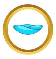 Ocean wave icon vector
