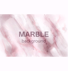pink marble watercolor background luxury vector image