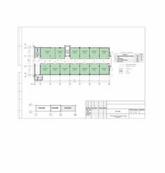 Reconstruction production building shop vector