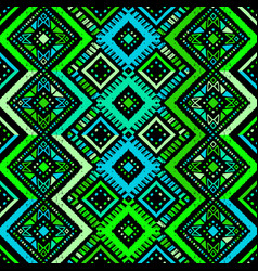 seamless ethnic zigzag chevron seamless pattern vector image