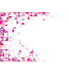 Abstract magenta geometric background vector