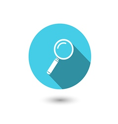 loupe icon vector image vector image