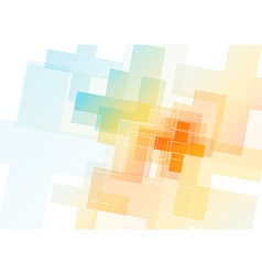 Abstract colorful background created with plus vector image vector image
