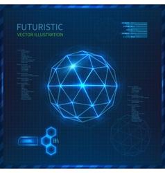 Futuristic vector image