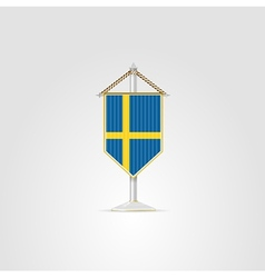 national symbols of European countries Sweden vector image