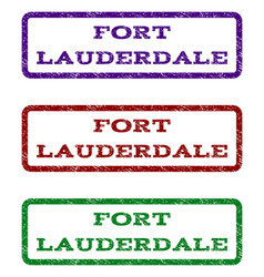 Fort lauderdale watermark stamp vector