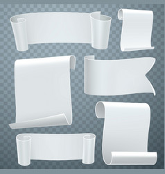 gray tapes template set vector image