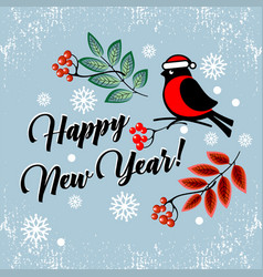 happy new year and merry christmas 2018 30 vector image