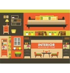 Ineterer set of objects vector