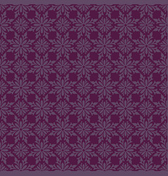 Korean traditional violet flower pattern vector